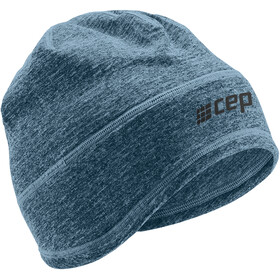 cep Winter Run Beanie, blue melange